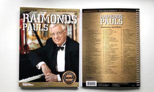 Otrajā Raimonda Paula dziesmu nošu krājumā daudz neparastu dziesmu!